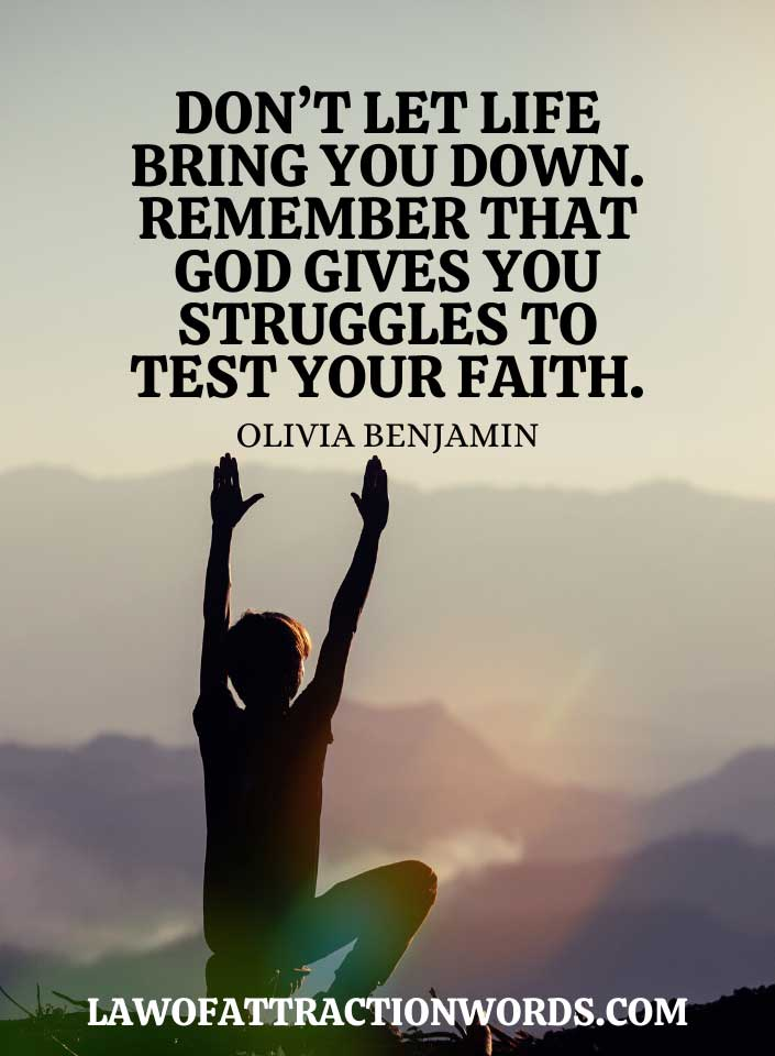 Life Quotes About Faith In God In Hard Times
