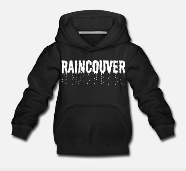 raincouver vancouver kid premium hoodie