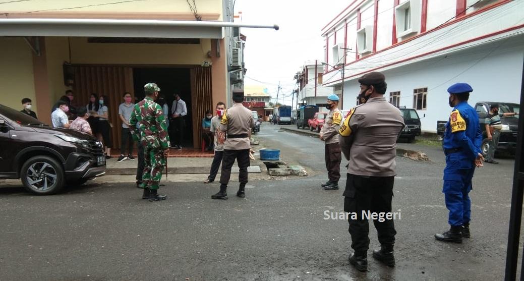 Kapolres dan Dandim 1415/Selayar, Pantau Pengamanan Perayaan Hari Paskah Bagi Umat Nasrani