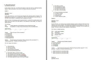 Soal Ujian Sekolah/Madrasah Bahasa Inggris MA dan Jawabannya (Plus Listening)