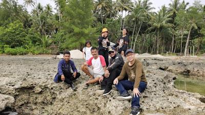 "Indahnya Lokasi ""Kamadu Beach"", Wabup Sekaligus Bupati Terpilih, Berkunjung"