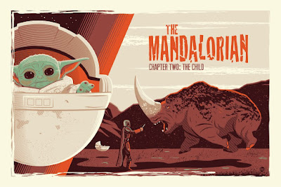The Mandalorian Chapter Two & Chapter Three Star Wars Screen Prints by Dave Perillo x Bottleneck Gallery