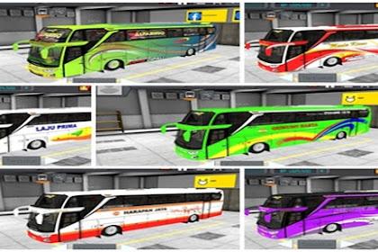 Kumpulan Livery MOD Bus JB3+ SHD By MN Codit WSP Mods (RSM)