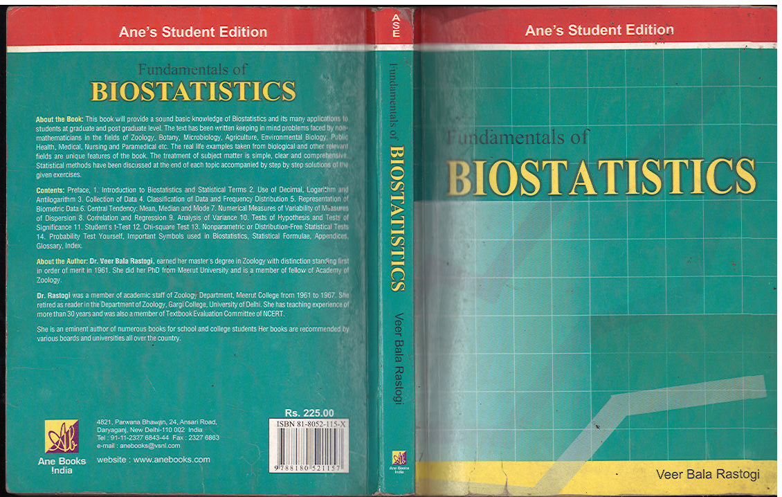 extrandai • Blog Archive • Fundamentals of biostatistics