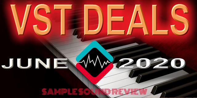 vst sales june 2020 sample sound review