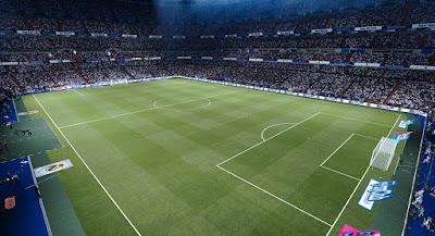 PES 2020 Stadium Santiago Bernabeu with Frostbite Pitch