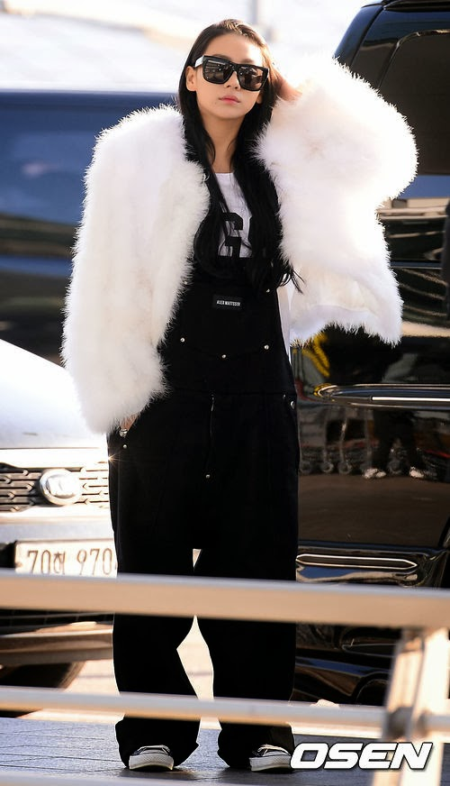 2ne1 cl airport fashion official korean fashion
