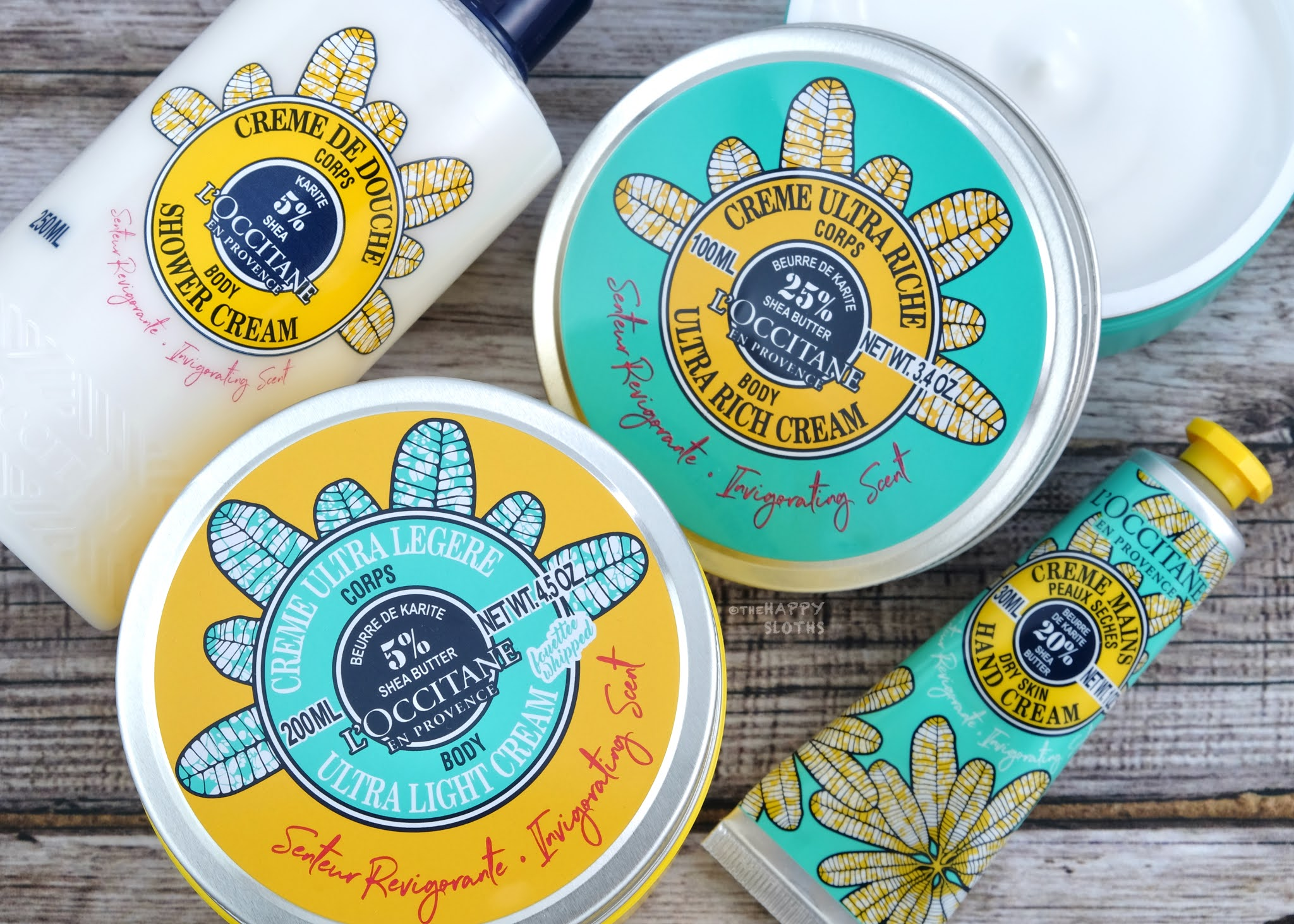 L'Occitane | Limited Edition Invigorating Shea Collection: Review