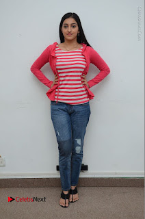 Telugu Actress Mouryani Latest Pos in Blue Denim Jeans  0210.JPG