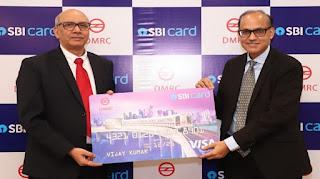 'Delhi Metro-SBI Card'