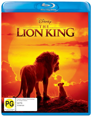 Win Disney's The Lion King on Blu Ray