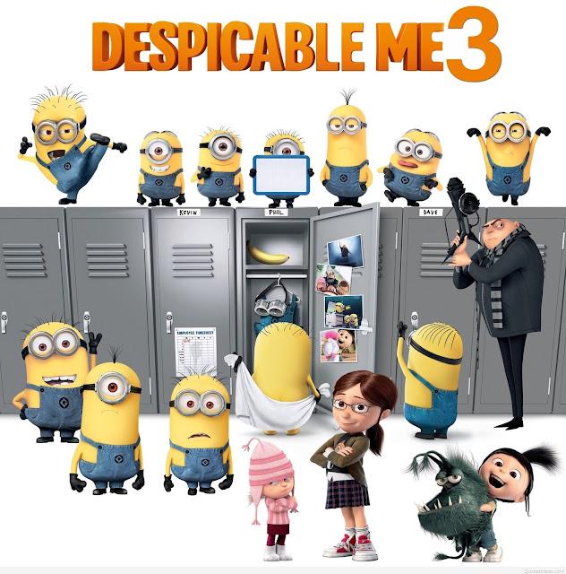 Phim Lẻ Kẻ Cắp Mặt Trăng 3 - Despicable Me 3 - 2017