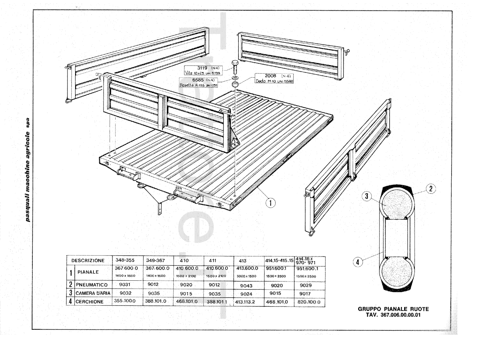 InfoTrattore.it: Carrello Pasquali 410 manuale
