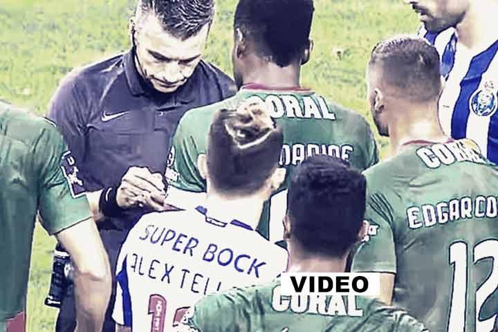 VAR Luís Ferreira, Arbitro Rui Costa, provas, crime, outubro 2020, Liga NOS, video,
