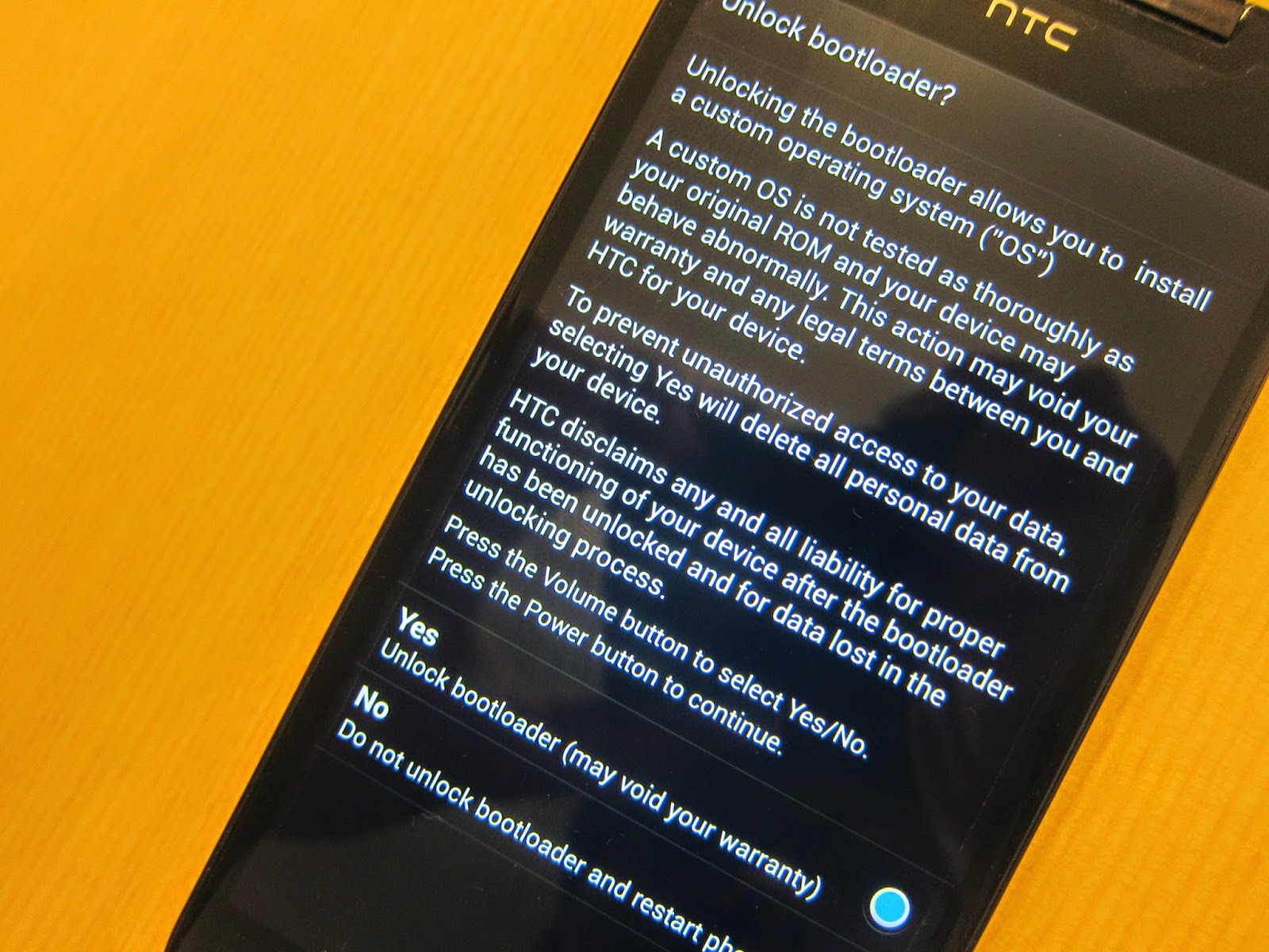 IMG 2324 - 【圖文教學】HTC Butterfly 4.3/4.4 解鎖+ROOT