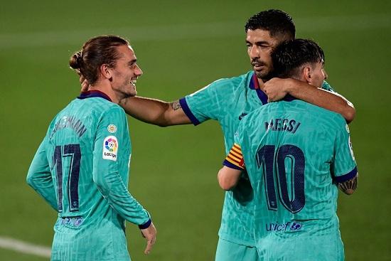 اهداف مباراة برشلونة وفياريال 1-4 فى الدورى الاسبانى 5-7-2020
