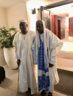 Oba of Lagos stands with former Kano Emir Sanusi, pays him visit (pictures)