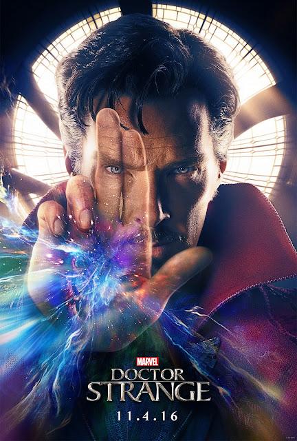 """Cartaz promocional do filme """"Doctor Strange"""", que estreou nos EUA em 04 de novembro de 2016."""