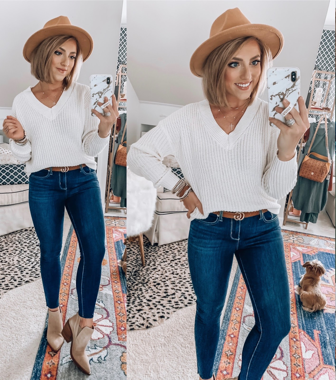 Recent Walmart Finds: Pieces you can wear now and again in the fall - Something Delightful Blog #walmartfashion #affordablefashion #fall2020fashion