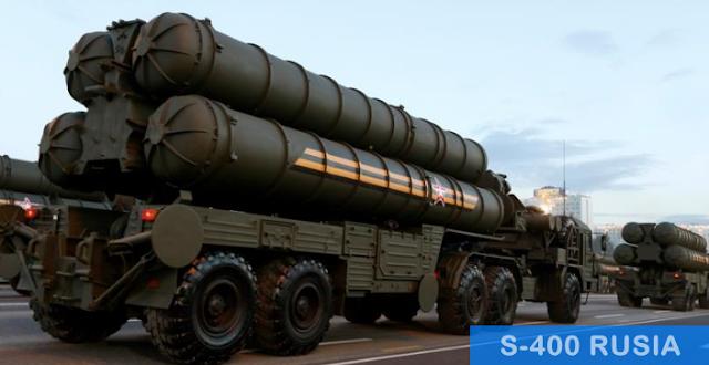 rudal S-400 Rusia