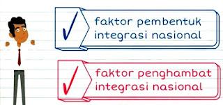 14 Faktor - Faktor Pembentuk dan Penghambat Integrasi Nasional