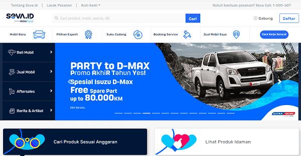 Seva Tempat Mobil Online Terbaik