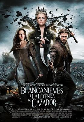 Blancanieves y la leyenda del cazador - Cartel