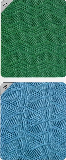 вязание на машине Silver Reed узоры для машинного вязания
