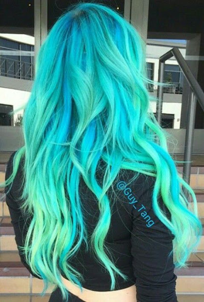 stunning bright hair colors
