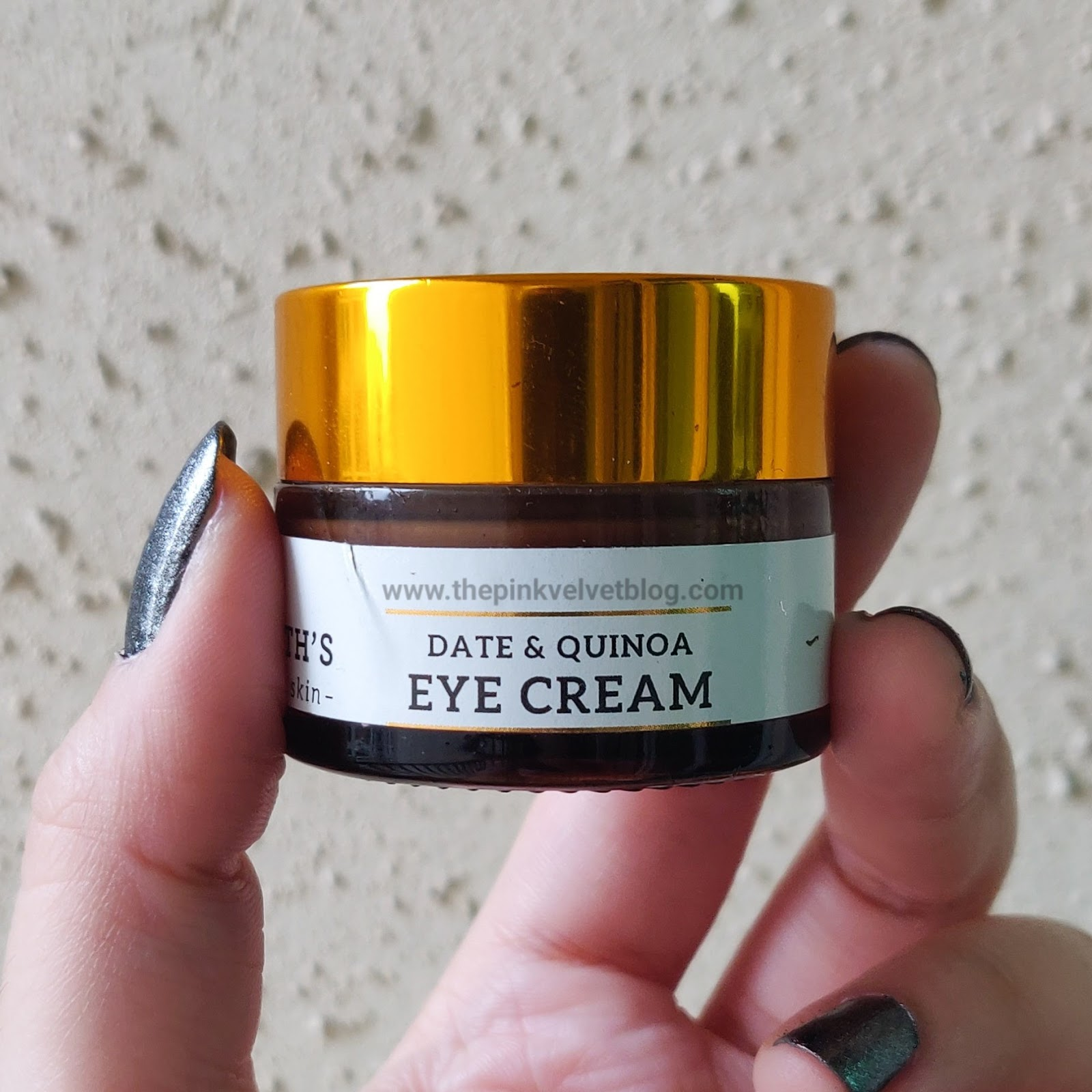Dr.Sheth's Date and Quinoa Eye Cream - Best 5 Paraben-Free Under Eye Creams in India Which Works