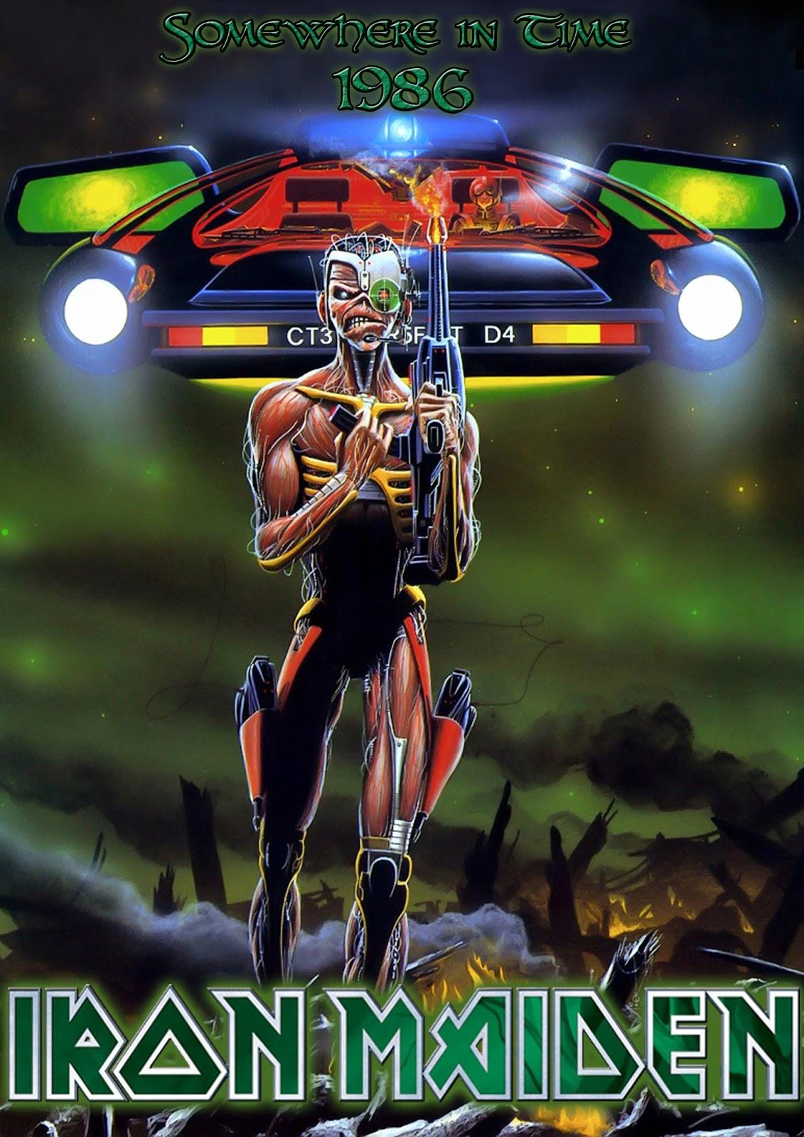 Metal Wallpaper Nash Iron Maiden Somewhere In Time