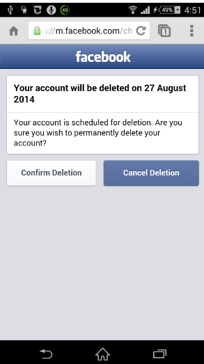 How Do I Cancel or Delete My Facebook Account