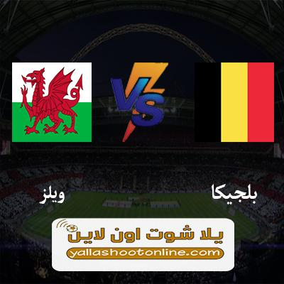 مباراة بلجيكا وويلز اليوم