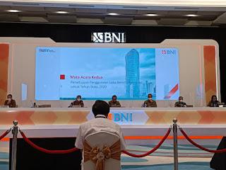 Pembahasan Mata Acara Penggunaan Dividen Bank BNI