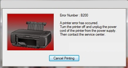 Canon MG5220 Error B200 [Solved] | Print Head Voltage Error