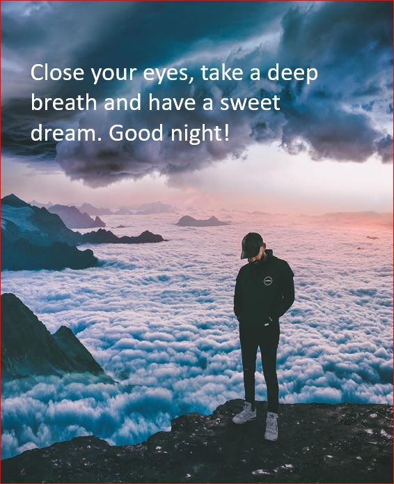 Motivational Quotes for good Night