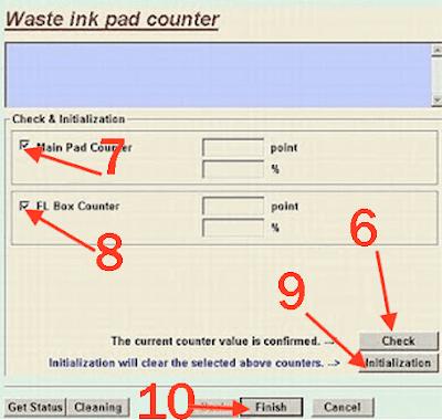 Epson stylus T13 resetter Software