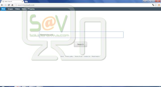 Search.listchack.com (Hijacker)