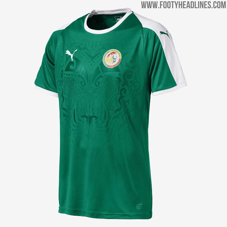 942cb00c1a6 Senegal 2018 World Cup Away Kit Revealed - Footy Headlines