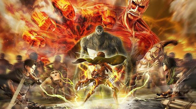 atack on titan art