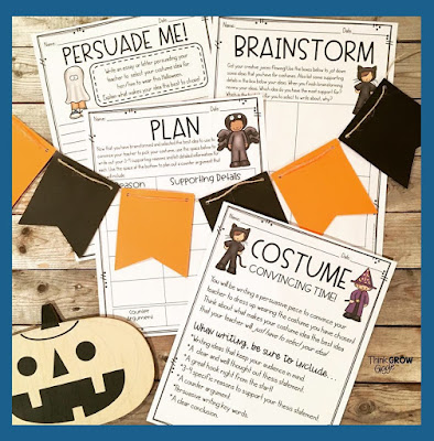 halloween writing prompts for upper elementary