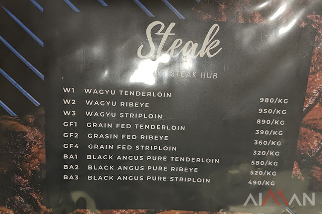 wagyu ghalit steak hub temerloh