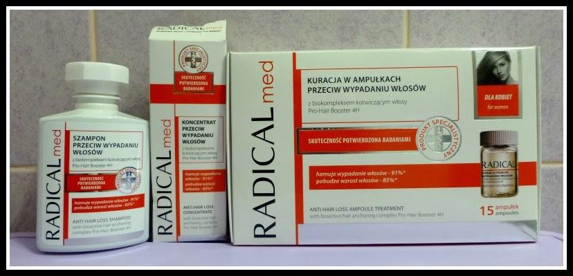 radical med przeciw wypadaniu włosów