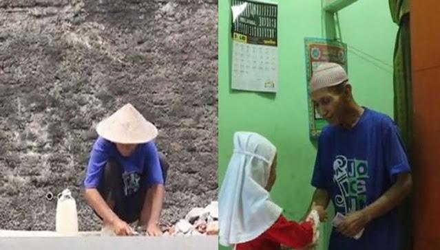 Kisah Nyata Kakek Pemecah Batu Usia 62 Tahun Santuni 75 Anak Yatim: 'Nurutin Dunia Gak Akan Ada Cukupnya'