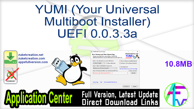 YUMI (Your Universal Multiboot Installer) UEFI 0.0.3.3a