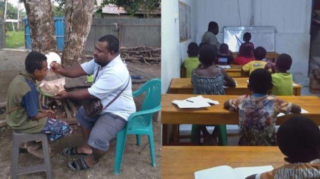 VIRAL Sosok Amos, Kubur Mimpi jadi Bupati Demi Layani Anak Pecandu Lem di Papua, Sempat Disebut Gila