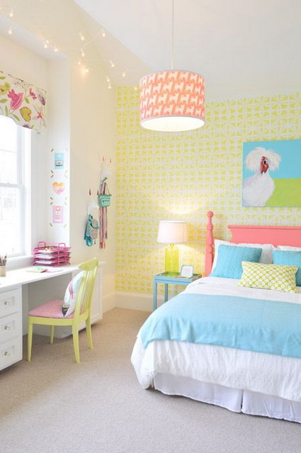 10 cute and lovely bedroom ideas for little girls 8