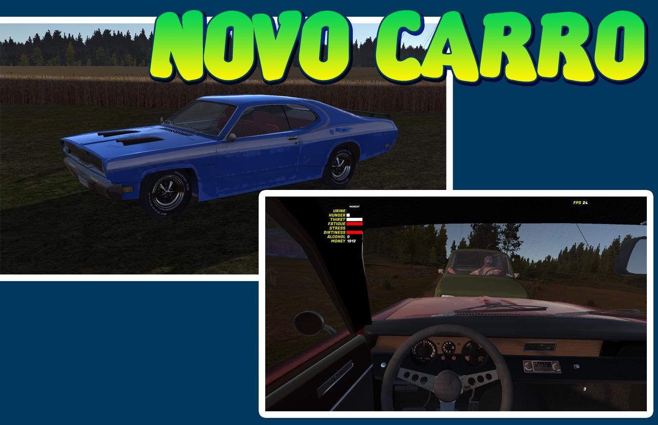 Mod] Novo Carro - Playmouth Dustman 1970 | My Summer Car Brasil