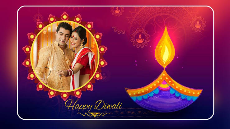 Happy Diwali Photo Frame - Diwali Photo Editor App