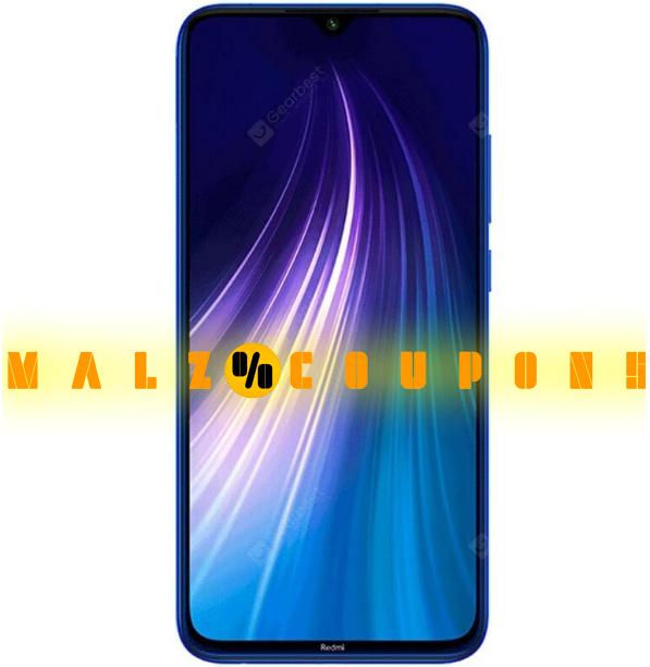 Smartphone Brand  Xiaomi Redmi Note 8 4G  ( Discount 31% OFF )